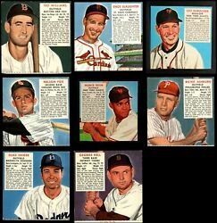 Red Man Tobacco 1952 Red Man Baseball Partial Complete Set 5 - Ex