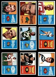 1964 Topps Cfl Football Almost Complete Set 5 - Ex