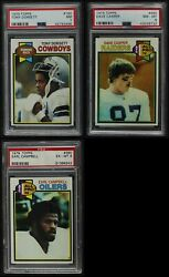1979 Topps Football Almost Complete Set 6.5 - Ex/mt+
