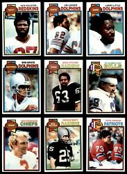 1979 Topps Football Near Complete Set 8 - Nm/mt