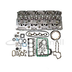 6685503 Complete Cylinder Head And Full Gasket For Kubota V2203-m-di-e2b-bc-3