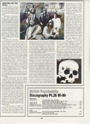 Writing On The Wall Magazine Article