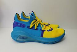 Under Armour Curry 6 Family Business 3point All Star Windbreaker Shoe Size 9 Men