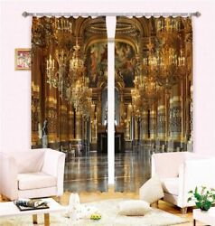 Blackout Window Curtains Royal Luxury For Kids Bedding Room Hotel Drapes Living