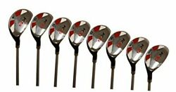 Senior Menandrsquos Golf All Hybrid Complete Full Set Which Includes 4 5 6 7