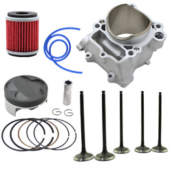 Cylinder Piston Rings Valves Oil Filter For Yamaha Yz250f Wr250f 2001-2013 77mm