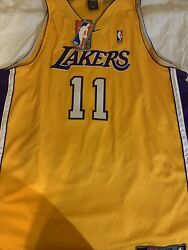 Karl Malone Nwt Authentic Nike 11 Los Angeles Lakers Jersey Size 56 3xl.