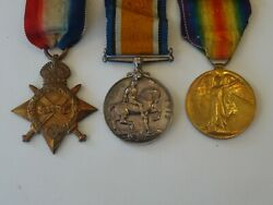 A Good World War One Medal Trio To Royal Navy Naval Reserve