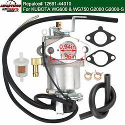 Carburetor Carb Assy 1269144010 For Kubota Lawn Tractor Wg600 Wg750 G2000 G2000s
