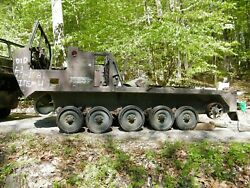 Army Tracked Vehicle M727 Hawk Guided-missile Carrier Parts Vehicle