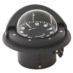 Ritchie Boat Voyager Compass F-82 | Flush Mount 3 1/2 Inch Black