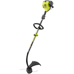 Ryobi Gas String Trimmer 25cc 2-cycle Attachment Capable Curved Shaft Full Crank