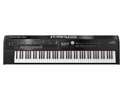 Roland Rd-2000 Digital Stage Piano Keyboard With Hybrid Action Proaudiostar