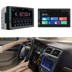 2din 7in Car Stereo Radio Mp5 Player Bluetooth Usb Aux Input Mirror Link Android