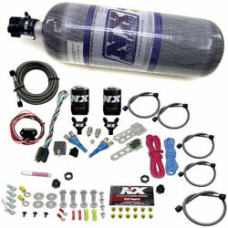 Nitrous Express 20716-12 For For Nissan 350z/for Infinity G35 Fly-by-wire Dual N