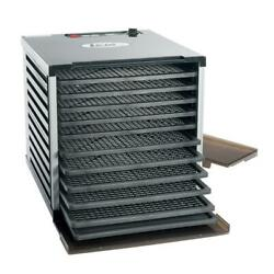 New Mighty Bite 10-tray Black Food Dehydrator With Temperature Control