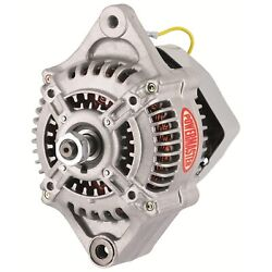 Powermaster 8116 Denso-style 110mm Race Alternator 100 Amp 1-wire 16 Volt No Pul