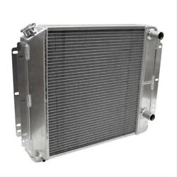Afco Cooling 84287-p-na-y Direct-fit Aluminum Radiator 1962-1967 Chevy Ii Nova