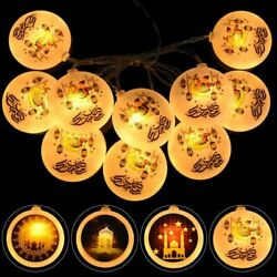Led Light String Decoration Moon Star Palace Design Aesthetic Night Lamps Decors