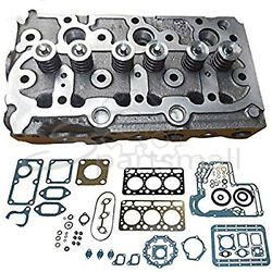 New D850 Complete Cylinder Head Loaded And Full Gasket Set For Kubota Tractor