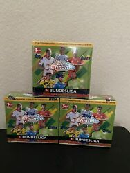 2020-21 Topps Chrome Bundesliga Match Attax 3 Boxes Lot New Sealed Uk Exclusive