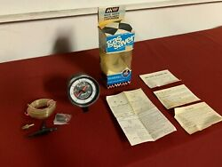 Nos Vintage 70and039s Gas Saver Gauge Vacuum Make Waves Corporation Ford Dodge Chevy