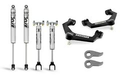 Cognito 3 Leveling Kit Uniball A-arms Fox 2.0 Ifp Shocks For 20-21 Gm 3500/2500