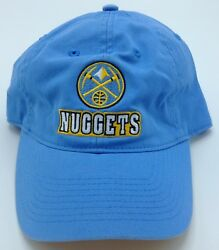 Nba Denver Nuggets Adult Slouch Adjustable Fit Curved Brim Cap Hat Beanie New