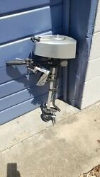 Gamefisher 1.2 Hp Air Cooled Outboard Motor Runs