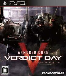 Armored Core Verdict Day Sony Ps3 Video Games From Japan Tracking Used