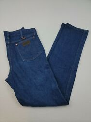 Mens Wrangler Relaxed Fit 31mwzpw Vintage Jeans 34x36