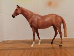 Breyer Horse quot;Let#x27;s Go Racing Chestnutquot; 1:9 Traditional Scale Collectible