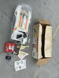 Outlaw Air Boat,45 Nitro Air Plane Engine-vintage Great Condition With Box