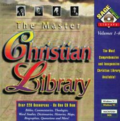 The Master Christian Library Pc Cd Collection Of Resources, Bible Study Tools