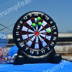 11x10 Ft Vinyl Pvc Commercial Inflatable Dart Board Game With Air Blower Kit