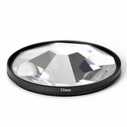 Camera Filter Photography Foreground Blur Film Photography Props 77mm Glass X5r7