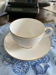Royal Doulton Classics Langdale Gold Footed Cup And Saucer H 5288
