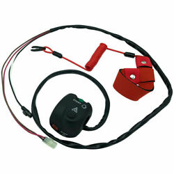 F1s-68310-01-00 Handlebar Start Stop Kill Switch And Safety Lanyard For Yamaha Fx