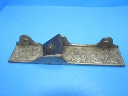 Parts - Filletster Bed Nickel Finish For Stanley Millers Patent No 41 Wood Plane
