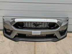 2019-2021 Ford Mustang Mach 1 Front Bumper Fascia Cover Assembly Iconic Silver