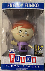 Freddy Funko Sdcc 2014 The Walking Fred 96 Pieces Rare Andldquo Waking Dead Andldquo