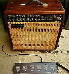 Mesa Boogie Mark Iv Combo Woodie Wood Cabinet Tube Guitar Amp Amplifier