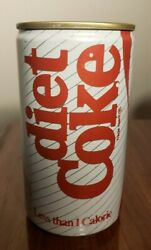 Diet Coke Commemorative Inaugural Production Run Can 1982 Vintage Can