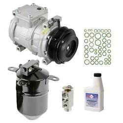 For Bmw 5 Series Brand New Ac Compressor Clutch With Complete A/c Repair Kit Dac