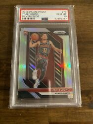 2018-19 Panini Silver Prizm 78 Trae Young Rc Rookie Hawks Psa 10