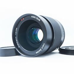 【near Mint】 Contax Carl Zeiss Distagon 35mm F/1.4 Aeg Lens C/y From Japan 245