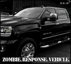 Zombie Response Military Letters Stencil Decal Sticker Vinyl Lettering Vehicle