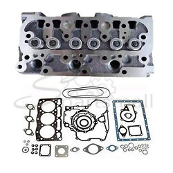 Complete Cylinder Head With Valves Andfull Gasket For Kubota D722 D722ebh Engine