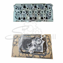 New Complete Cylinder Head Assy W Valves And Full Gasket For Kubota D782 Engine