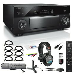 Yamaha Aventage Rx-a2080 9.2-channel Network A/v Receiver Rx-a2080bl +